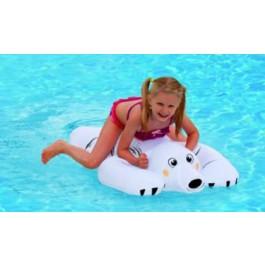 WEHNCKE 14114 Reittier Eisbär aufblasbar waschbar für Strand & Pool