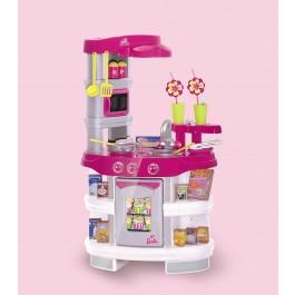 Theo Klein, 9585, Barbie Soundküche mit Zubehör, Spielküche für Kinder