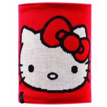 HELLO KITTY CHILD NECKWARMER KNITTED & POLAR FLEECE BUFF® SCARLETKITTY/GREY VIGORE