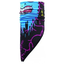 CHILD BANDANA POLAR BUFF® TERRIFYING / BLACK