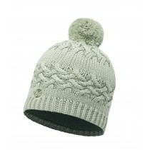 KNITTED & POLAR HAT BUFF® SAVVA CREAM