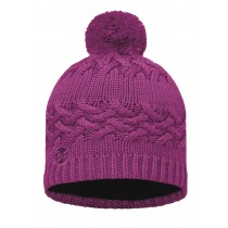 BUFF® Knitted & Polar Hat Savva Erwachsene Mütze Mardi Grape