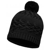BUFF® Knitted & Polar Hat Savva Erwachsene Mütze Black