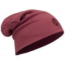 BUFF® Heavyweight Merino Wool Loose Hat Erwachsene Mütze Solid Tibetan Red