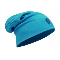 MERINO WOOL THERMAL HAT SLOUCHY BUFF® SOLID OCEAN