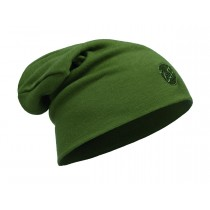 MERINO WOOL THERMAL HAT SLOUCHY BUFF® SOLID CEDAR