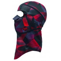 BALACLAVA WINDPROOF BUFF® RED ALDOR L/XL