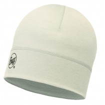 MERINO WOOL 1 LAYER HAT BUFF® SOLID SNOW