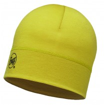 MERINO WOOL 1 LAYER HAT BUFF® SOLID OCHER