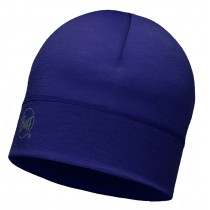 MERINO WOOL 1 LAYER HAT BUFF® SOLID PLUM