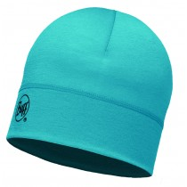 MERINO WOOL 1 LAYER HAT BUFF® SOLID BLUE CAPRI