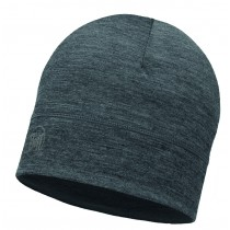 MERINO WOOL 1 LAYER HAT BUFF® SOLID GREY