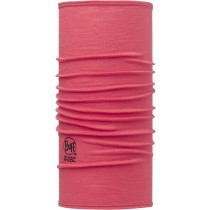 SLIM FIT MERINO WOOL BUFF® SOLID PINK HIBISCUS