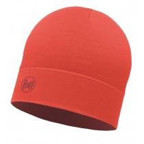 BUFF® Lightweight Merino Wool Hat Erwachsene Mütze Solid Cranberry Red