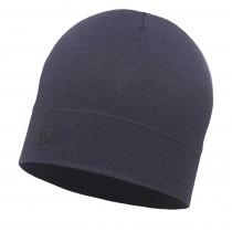 BUFF® Lightweight Merino Wool Hat Erwachsene Mütze Solid Estate Blue