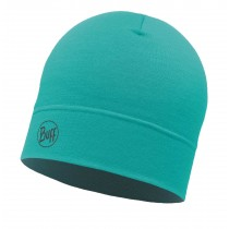 BUFF® Lightweight Merino Wool Hat Erwachsene Mütze Solid Turquoise