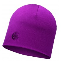 MERINO WOOL THERMAL HAT BUFF® SOLID PINK CERISSE