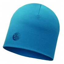 MERINO WOOL THERMAL HAT BUFF® SOLID OCEAN