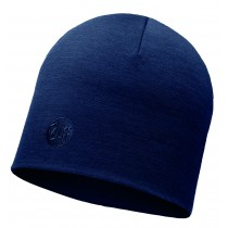 MERINO WOOL THERMAL HAT BUFF® SOLID DENIM