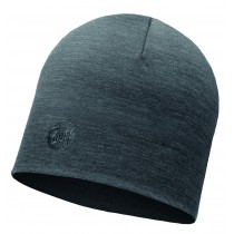 MERINO WOOL THERMAL HAT BUFF® SOLID GREY