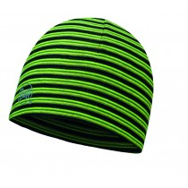 MICROFIBER REVERSIBLE HAT BUFF® YELLOW FLUOR STRIPES