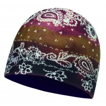 MICROFIBER REVERSIBLE HAT BUFF® DELHI TOBACCO - PLUM PURPLE
