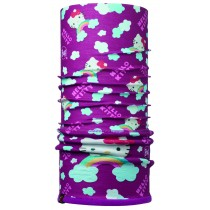 HELLO KITTY CHILD POLAR BUFF®  RAINBOW PURPLE / MARDI GRAPE