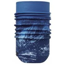 BUFF® Windproof Neckwarmer Erwachsene Schlauchschal Mountain Bits Blue