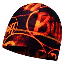 MICROFIBER 1 LAYER HAT BUFF® MULTI LOGO ORANGE FLUOR