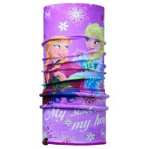 FROZEN CHILD POLAR BUFF® SISTERS PINK / MARDI GRAPE