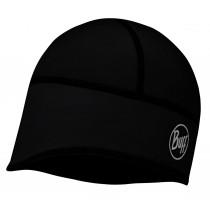 BUFF® Windproof & Tech Fleece Hat Erwachsene Mütze Solid Black