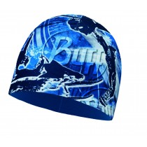 JUNIOR MICROFIBER & POLAR HAT BUFF® JUMP BLUE