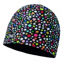 CHILD MICROFIBER & POLAR HAT BUFF® ATZARE BLACK