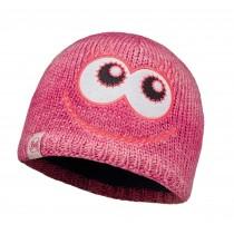 BUFF® Knitted & Polar Hat Kinder Mütze Merry Pink