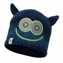 BUFF® Knitted & Polar Hat Kinder Mütze Merry Dark Navy