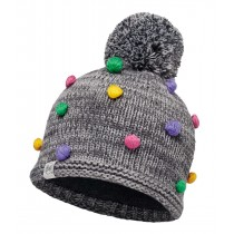 BUFF® Knitted & Polar Hat Kinder Mütze Odell Grey Vigoré