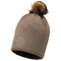 BUFF® Knitted & Polar Hat Stella Erwachsene Mütze Taula Brown Taupe Chic