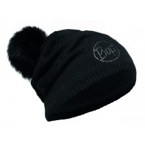 KNITTED & POLAR HAT BUFF® STELLA BLACK CHIC