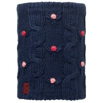 BUFF® Knitted & Polar Fleece Neckwarmer Junior Neckwear Dysha Dark Navy
