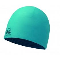 MERINO WOOL REVERSIBLE HAT BUFF® SOLID BLUE CAPRI