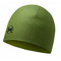 MERINO WOOL REVERSIBLE HAT BUFF® SOLID LIGHT MILITARY