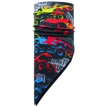 JR & CHILD POLAR BANDANA BUFF® MONSTER TRUCK MULTI