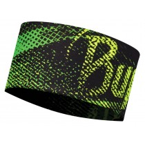 UV HEADBAND BUFF® FLASH LOGO YELLOW FLUOR