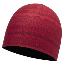 COOLMAX REVERSIBLE HAT BUFF® PORTUS RED - BLACK