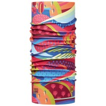 JUNIOR HIGH UV BUFF® COLOURFUL MOUNTAINS MULTI