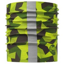 BUFF® Dog Halsband Schlauchtuch Hund R-Block Camo Green S/M