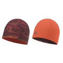 BUFF® Microfiber Reversible Hat Erwachsene Mütze Bess Wine - Terracotta