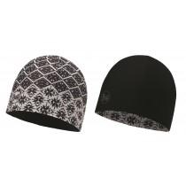 BUFF® Microfiber Reversible Hat Erwachsene Mütze Jing Multi - Black
