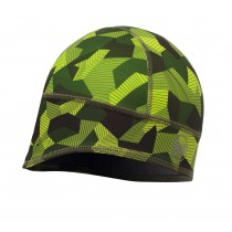 BUFF® Windproof & Tech Fleece Hat Erwachsene Mütze Block Camo Green