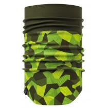 BUFF® Windproof Neckwarmer Erwachsene Schlauchschal Block Camo Green